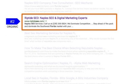 Search Results for Reputable SEO in Naples FL